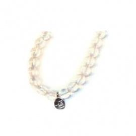 Bracelet perles ETERNiTE (恒) en CRiSTAL de ROChE 6mm