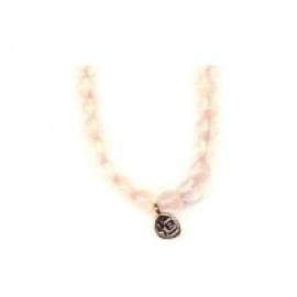 Bracelet perles ETERNiTE (恒) en QUARTZ ROSE 6mm