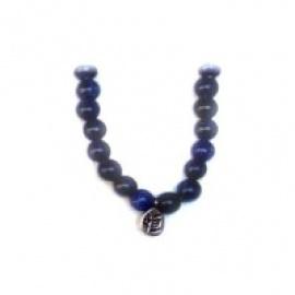 Bracelet perles ETERNiTE (恒) en SOdALiTE 6mm