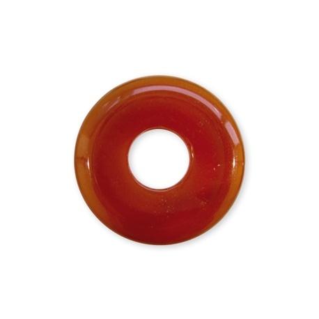 Pendentif Pi ou DONUT en agate (d3cm)
