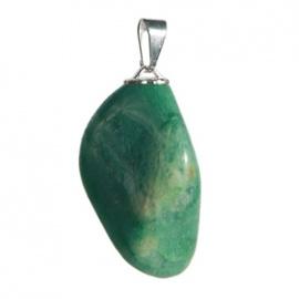 Pendentif PiERRE ROULéE en jade aventurine