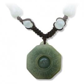 Pendentif PAKWA en jade aventurine (Protection)