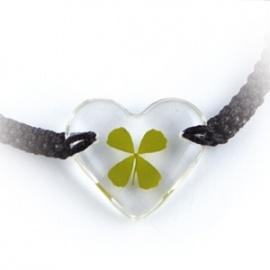 Bracelet ajustable TRèFLE VéRiTAbLE coeur