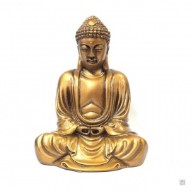 Bouddha de KAMAKURA en résine doré (h15cm)