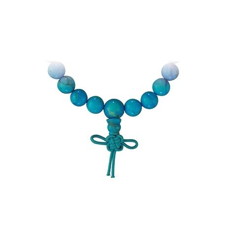Bracelet mala en TURKéNiTE teintée perles 8mm