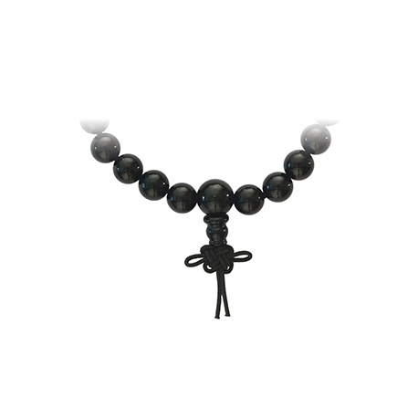 Bracelet mala en ONYX NOiR perles 8mm