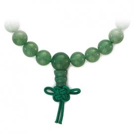 Bracelet mala en JAdE AVENTURiNE perles 8mm