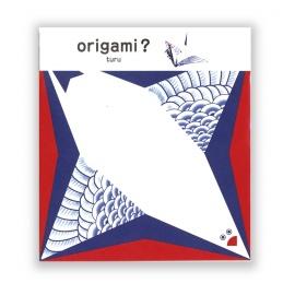 Cochae koten origami GRUE (5 feuilles de 15x15cm)
