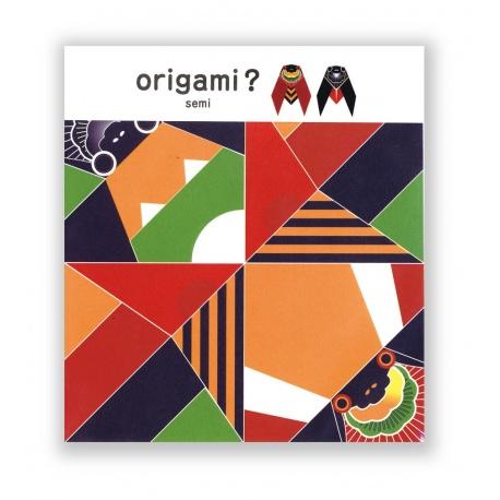 Cochae koten origami CiGALE (5 feuilles de 15x15cm)