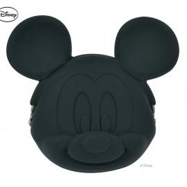 Porte-monnaie POCHi Disney MiCKEY noir en silicone