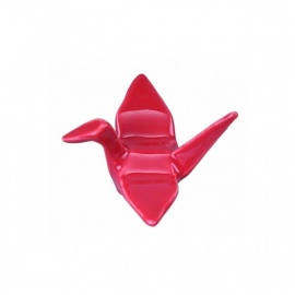 Porte-baguettes ORiGAMi en porcelaine rouge