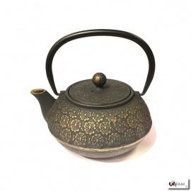 Théière en fonte chinoise SAKURA 0.80L bronze