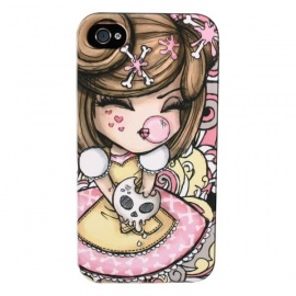 Coque iPhone 4 ou 4S Kimmidoll Love YUMi YUMi