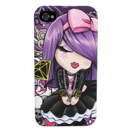 Coque iPhone 4 ou 4S Kimmidoll Love EVE ELLE