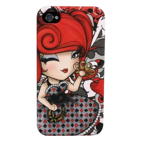 Coque iPhone 4 ou 4S Kimmidoll Love LACY LUCK