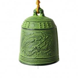 Carillon à vent japonais en fonte TEMPLE DRAGON