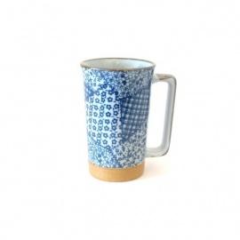 Mug en céramique japonaise PATChWORK 35cl