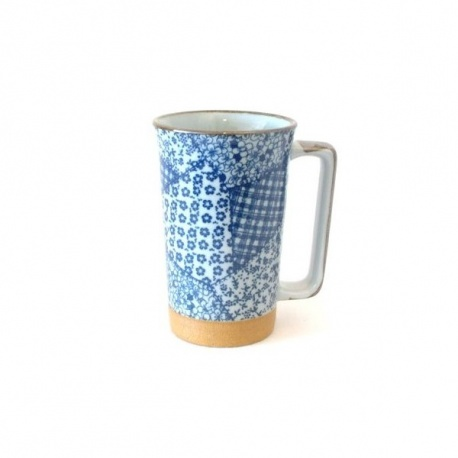Mug en céramique japonaise PATChWORK 50cl