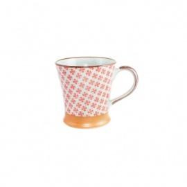 Mug en céramique japonaise TREFLE rouge 25cl