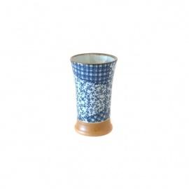 Mazagran en céramique japonaise PATChWORK