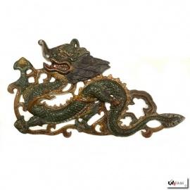 Dragon en aluminium (h20cm)