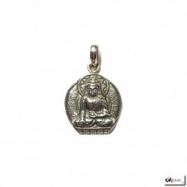 Pendentif Bouddha ShAKYAMUNi en argent 925 (6gr.)