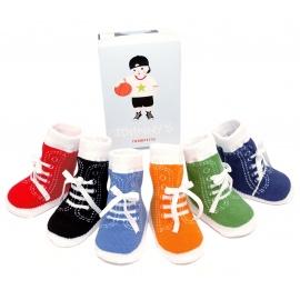 6 chaussettes pour bébé assortis JOhNNY'S (0 à 12 mois)