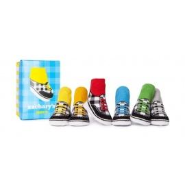 6 chaussettes pour bébé assortis ZAChARY'S (0 à 12 mois)