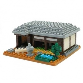 nanoblock monument MAiSON TRADITiONNELLE (Japon)