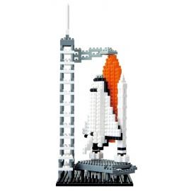 nanoblock monument SPACE CENTER (Etats-Unis)