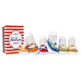 6 chaussettes pour bébé assortis BABY SAiLORS (0 à 12 mois)