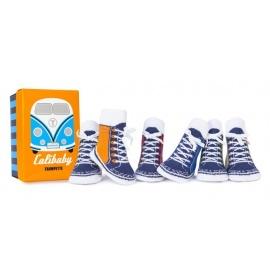 6 chaussettes pour bébé assortis CALiBABY (0 à 12 mois)
