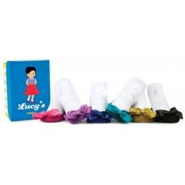 6 chaussettes pour bébé assortis LUCY'S (0 à 12 mois)