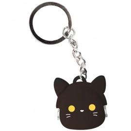 Porte-clés mimi POCHi-Bit Friends KURO en silicone