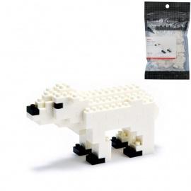 nanoblock mini OURS POLAiRE (+ de 120 pièces)