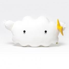 Coussin géant noodoll© 60cm RiCESTORM blanc