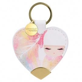 Porte-clés coeur strap Kimmidoll MiZUYO (Tendresse)