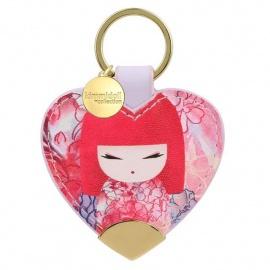 Porte-clés coeur strap Kimmidoll YUKA (Générosité)