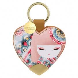 Porte-clés coeur strap Kimmidoll HARUYO (Paix)