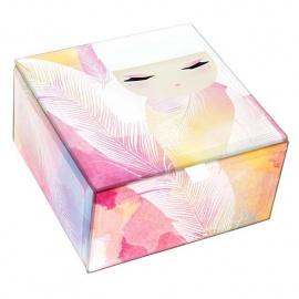 Boîte à bijoux en verre Kimmidoll MiZUYO (Tendresse)