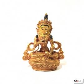 Bouddha VAjRASATTVA en laiton doré (h7.8cm)