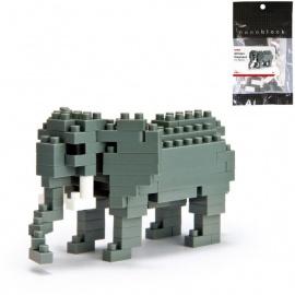 nanoblock mini ELEPHANT (+ de 120 pièces)