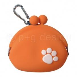 Porte-monnaie POChi'S POChi orange en silicone