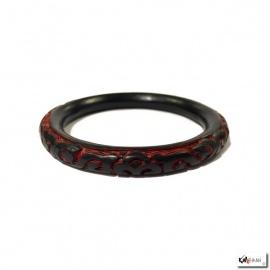 Bracelet ARABESQUES en laque de Pékin