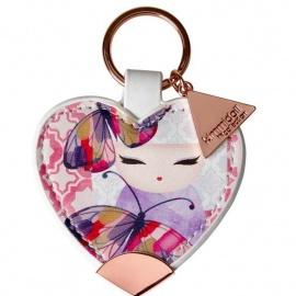 Porte-clés coeur strap Kimmidoll ANA (Amour)