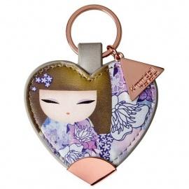 Porte-clés coeur strap Kimmidoll SAChiE (Charme)