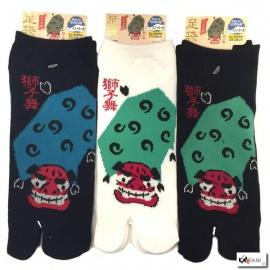 Soquettes à orteil japonaises ShiShiMAi (extensible t39 à t44)