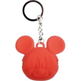 Porte-clés POCHi-Bit Disney MiCKEY rouge en silicone