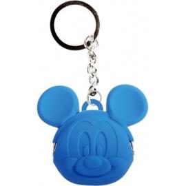 Porte-clés POCHi-Bit Disney MiCKEY bleu en silicone