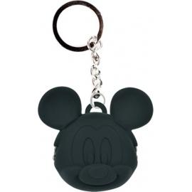 Porte-clés POCHi-Bit Disney MiCKEY noir en silicone